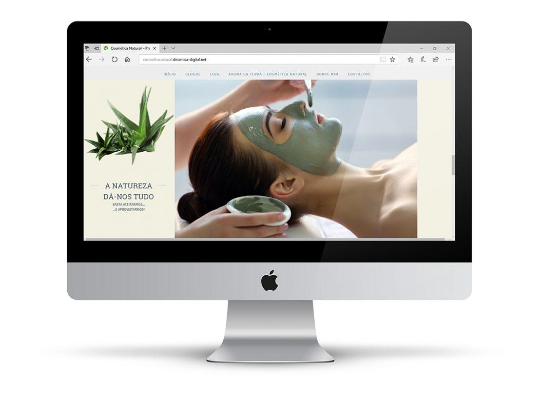Construção do Catalogo Online | Cosmética Natural