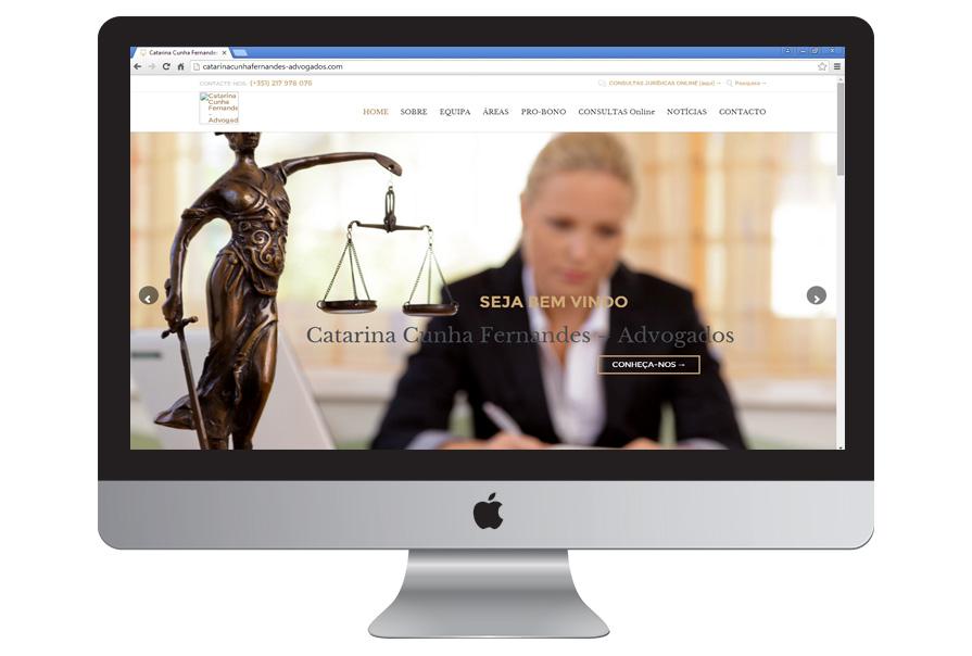 Construção de Site de Serviços | C. C. F. Advogados