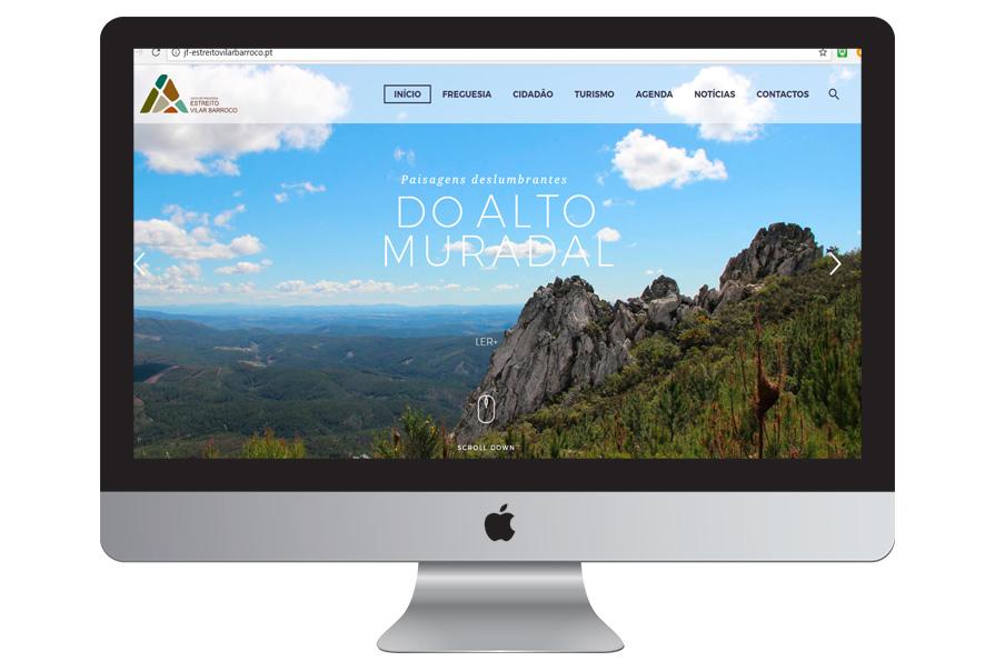 Construção de site | serviços e turismo | JUNTA DE FREGUESIA DE ESTREITO – V. BARROCO