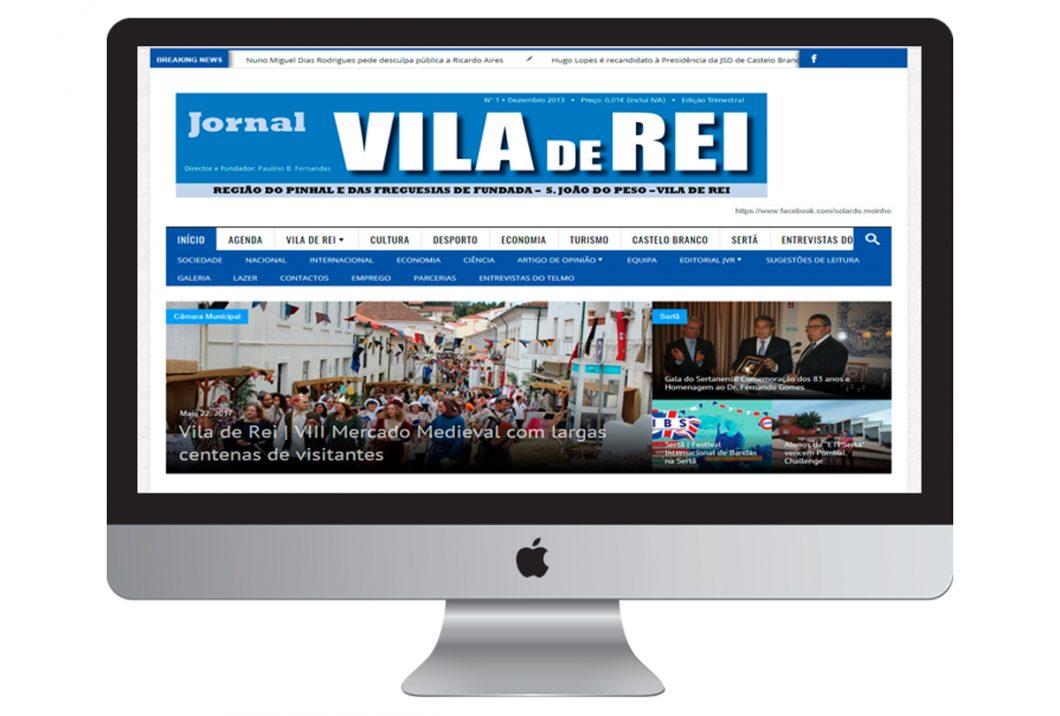 Construção de Web Site / Blogue | Jornal de Vila de Rei