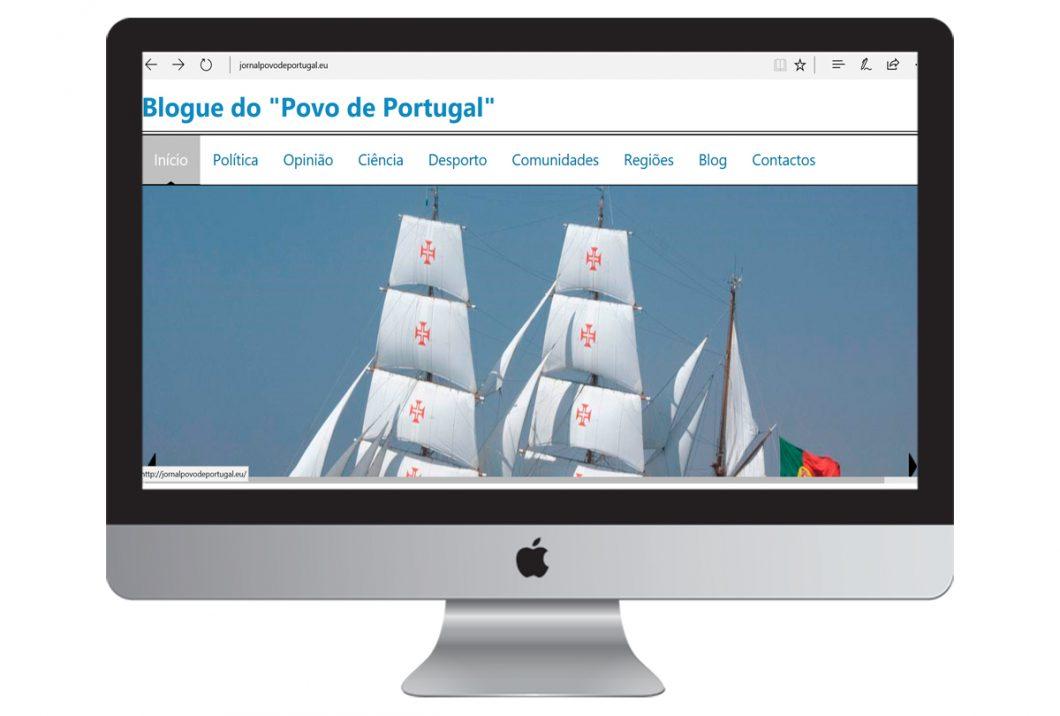 Desenvolvemos o Web Site | Blogue POVO DE PORTUGAL