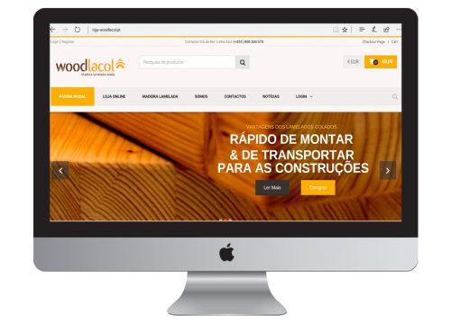 contrução de lojas online - woodlacol