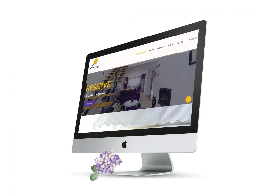 Web Design | Site para turismo rural | Casa da Laderia