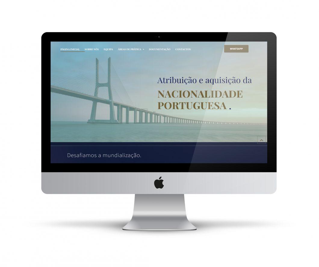Design | web site para Escritório de Advogados