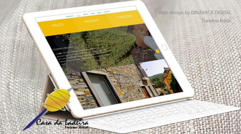Lançámos o site da Casa da Ladeira, Turismo Rural