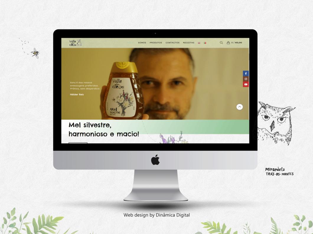 Web design | Loja online | Mel Valle das Corujas