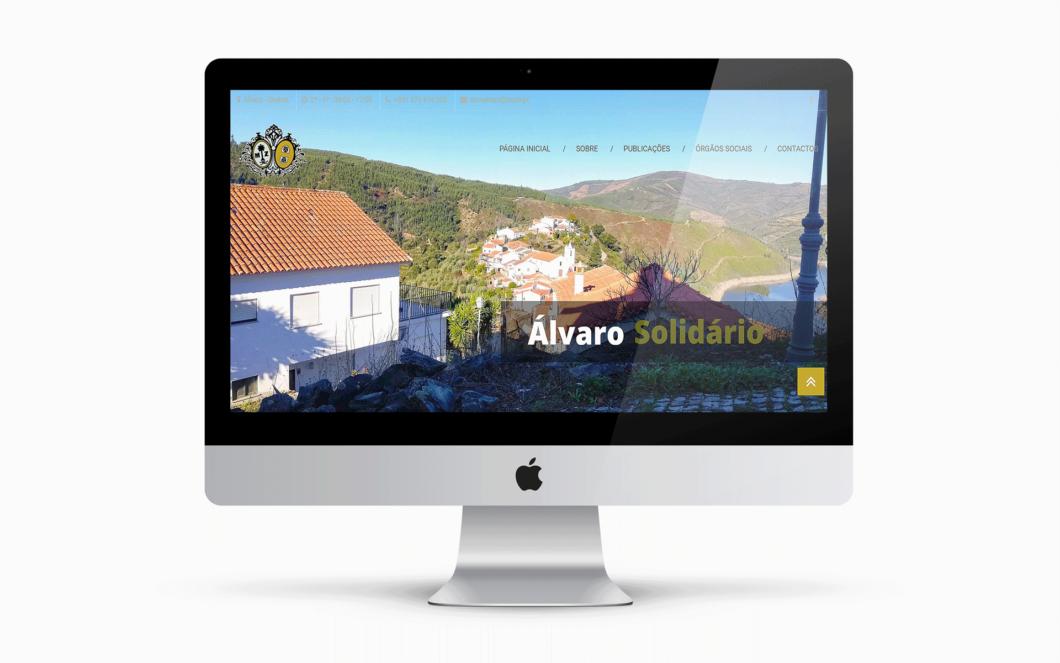 Web Design | Site do Centro Social de Álvaro